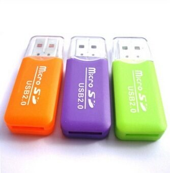 Elit High Speed USB 20 Micro SD T-Flash TF M2 Memory Card Reader adapter