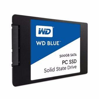 """Western Digital BLUE 2.5"""" 7MM 500GB, SATA 3 (6GB/S) WDSSD500GB-SATA(500GB)(500GB)"""
