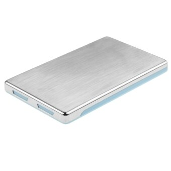 High Speed 2.5 inch HDD SATA and IDE External Case Support USB 3.0 (Blue)
