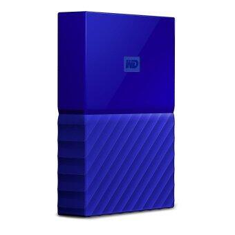 WD 4TB Blue My Passport Portable External Hard Drive - USB 3.0 - WDBYFT0040BBL-WESN - intl