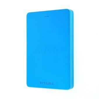TOSHIBA Canvio Alumy 1TB USB 3.0 2.5 Inch External Hard Drive (ฺBlue) ของแท้
