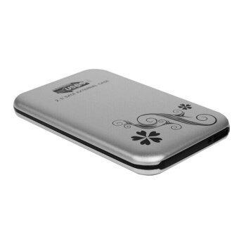 Fang Fang USB 3.0 HDD Hard Drive External Enclosure 2.5 Inch SATA HDD Case Box (Silver)
