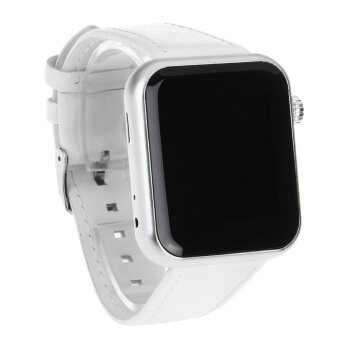 Atongm AW08 1.44 Inch Capacitive Screen Bluetooth V4.1 Smart Watch - White(...)-intl