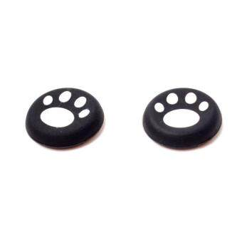 BUYINCOINS Cat Paw Joystick Silicone Controller Caps 2pcs White For PS4 Xbox One