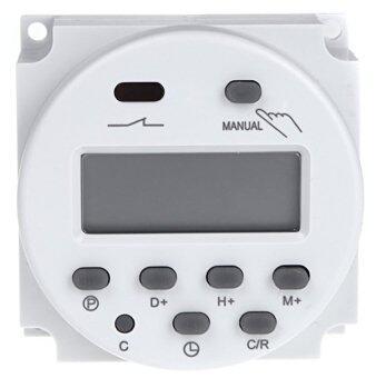 ITandHome เครื่องตั้งเวลา ใช้ควมคุมตั้งเวลาระบบไฟฟ้าต่างๆ 220V รุ่น CN101 - สีขาว image