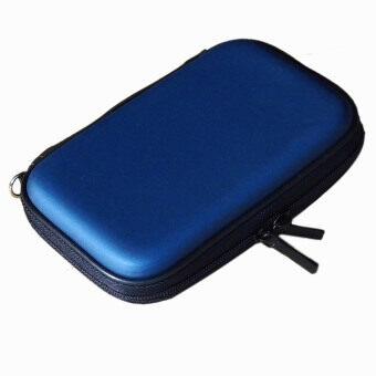 2.5 inch IDE SATA HDD Hard Disk Drive Storage Box (Blue)