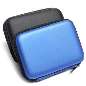 Shell Pouch Carry Case for 2.5 Inch External Hard Disk (Blue)