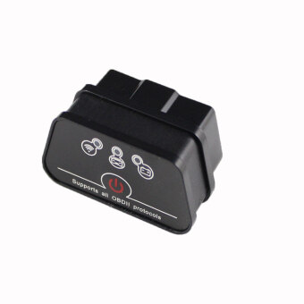 Super Mini Wi-Fi iCar2 Vehicle Wi-Fi OBD-II Code Diagnostic Tool / Clearer (Black)