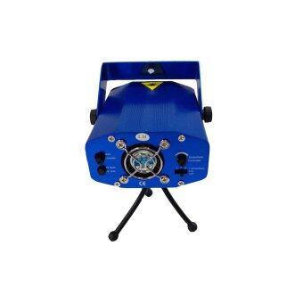 LTM ไฟเลเซอร์ 6 ลาย รุ่น YX-6G-B - สีฟ้า (image 1)