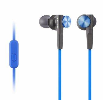 Sony In-Earphone - รุ่น MDR-XB50AP (Blue)