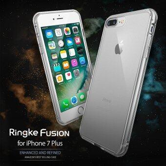 Ringke Fusion iPhone7Plus 5.5' เคสใสกันกระแทก ผ่านการทดสอบการกระแทกระดับ Military Grade ด้วยเทคโนโลยีกระจายแรงกระแทก (สีใส) (image 1)
