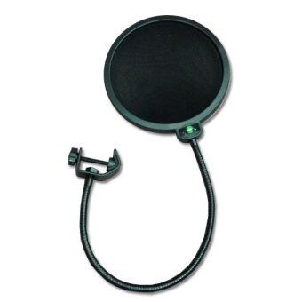 LTM POP FILTER แผ่นกรองเสียง รุ่น -WS-04 (สีดำ)