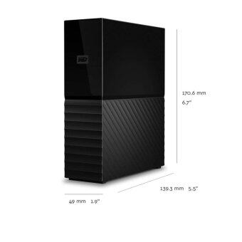WD My Book External 3TB (WDBBGB003HBK-SESN) 2017 - black