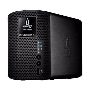 iomega StorCenter ix2-200 NAS Server + HDD (2x1TB) SATA II 256MB SDRAM (HDD Included)