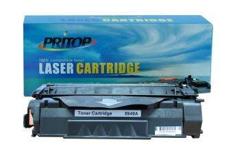 Pritop HP Q5949A (49A) Black ตลับหมึกเลเซอร์เทียบเท่า