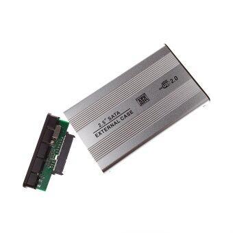 2.5 inch mini USB 2.0 HDD Enclosure, Mobie Hard Disk Box, Silver - Intl