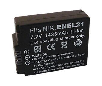 แบตเตอรี่กล้อง Nikon1 V2 แบตนิคอน รุ่น EN-EL21 ENEL21 Replacement Battery for Nikon