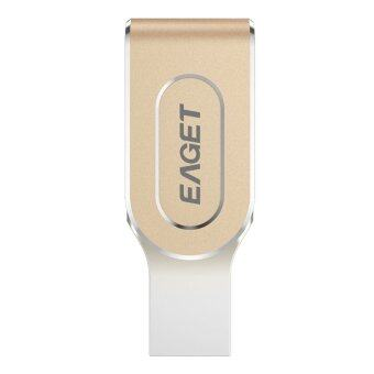 EAGET i80 USB 3.0 8 Pin OTG Expansion U Disk for iPhone / iPad 64GB - Intl