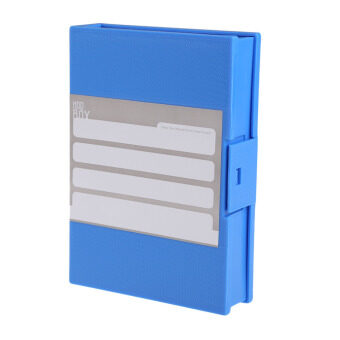 New 3.5inch HDD Hard Disk Drive Protection Storage Box Case Enclosure Blue (Intl)