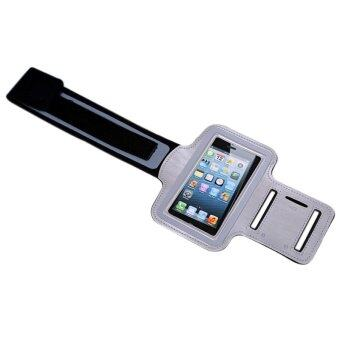 2016 Durable Running Sports Gym Arm Band Case For Iphone 5s Workout Holder Cover Phone BagSilver · >>>>