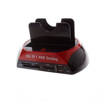 2.5/3.5 inch USB2.0/3.0 HDD Docking Station Mobile Hard Disk Base (Black)