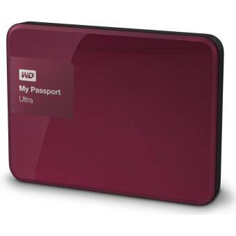 WD NEW My Passport Ultra 1TB (WDBGPU0010BBY) Portable Storage (Jelly Red)