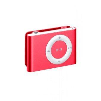 Best Mini Clip MP3 Player Music Speaker เครื่องเล่น MP3 ขนาดพกพา - Red