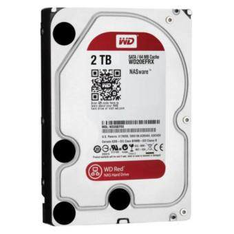WD HD 2.0TB 7200RPM WESTERN SATA-III 64MB WD20EFRX (RED) -3 YEARS (BY SYNNEX,EA)