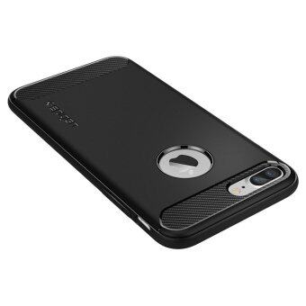 SPIGEN เคส Apple iPhone7 Plus Case Rugged Armor : Black (image 2)