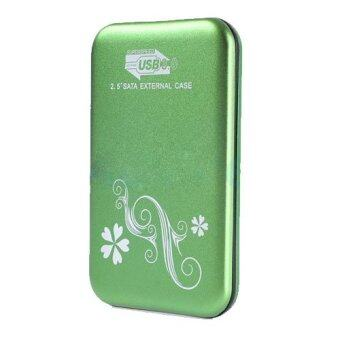 Enclosure 2.5'' SATAรุ่นS2512,USB3 (Green)