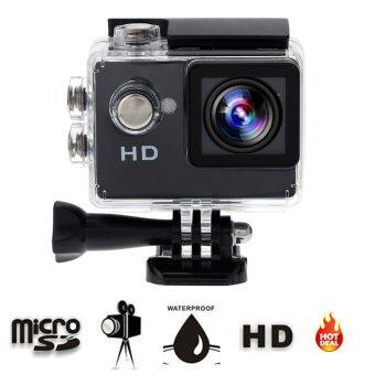 (Color:Black) Original Cool Eken A7 Mini Action Camera Video 90 Degrees Wide Angle Sports Camera 2 Inch Screen 720p 30fps for GOPRO HERO STYLE CAM