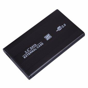 USB 2.0 2.5 HARD DRIVE SATA EXTERNAL CASE ENCLOSURE2014 - intl