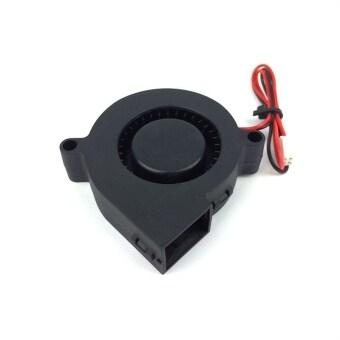 DC 24V 3D Printer Blowing Fan for Cooling Heatsinks (Black)