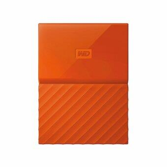 WD HDD - HARD DISK EXTERNAL 2.5 4TB MY PASSPORT 2017 ORANGE (WDBYFT0040BOR)