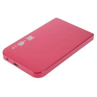 USB 2.0 480Mbps Enclosure Case Box For Laptop 2.5inch SATA Hard Drive