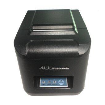AKK Softtech เครื่องพิมพ์สลิป ใบเสร็จรับเงิน ใบกำกับภาษีอย่างย่อ IN-80P 80 mm.(สีดำ)