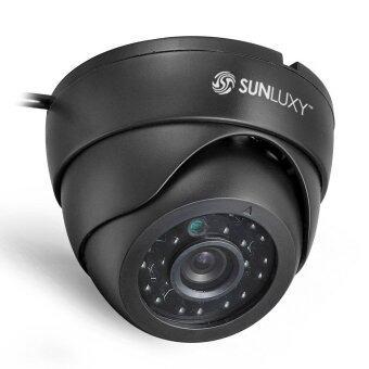 WiseBuy 700TVL กล้องวงจรปิดรักษาความปลอดภัยตรวจตราโดมในร่ม 24 เครื่องแยกมองในที่มืดอินฟราเรด (image 2)