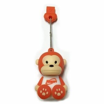 Meedy USB 2.0 Flash Drive 8 GB Memory Stick Cartoon Monkey (Orange)