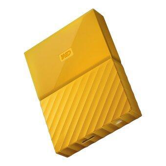 WD My Passport New Model 1TB (Yellow) (WDBYNN0010BYL-WESN)