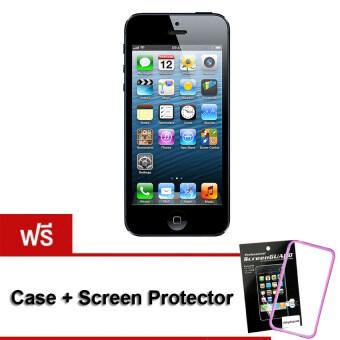 REFURBISHED Apple iPhone5 16 GB Black (Free Case+ScreenProtector)