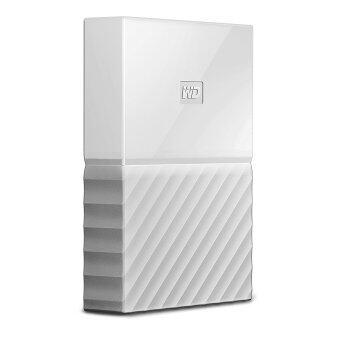 WD 4TB White My Passport Portable External Hard Drive - USB 3.0 - WDBYFT0040BWT-WESN - intl