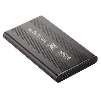 "External Enclosure Case for Hard Drive HDD Usb 3.0 Sata Hdd Portable Case Durable 2.5"" Inch Black"