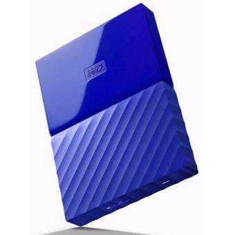 อุปกรณ์จัดเก็บข้อมูล WD รุ่น WDBYNN0010BBL-WESN สีฟ้า