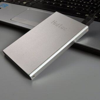 "External Hard Drive Portable 2.5 "" for IOS Widows System Desktop Laptop Desktop Computer 120GB USB 2.0 HDD Disk Silver Color - Intl"