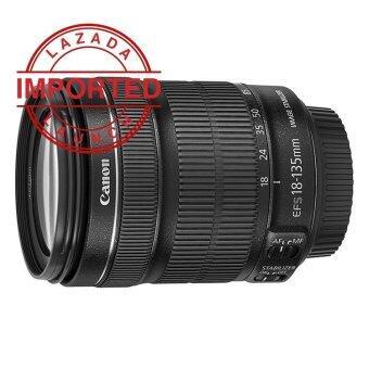 Canon EF-S 18-135mm f/3.5-5.6 f3.5-5.6 IS STM Lens (Black)