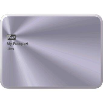 WD My Passport Ultra 1TB (WDBTYH0010BSL) Metal Edition (Silver)