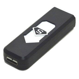 S2K ไฟแช็ค USB จุดบุหรี่ (สีดำ) (image 0)