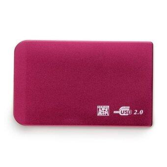 SATA HDD HD USB 2.5-Inch Hard Drive External Enclosure Case with Leather Pouch