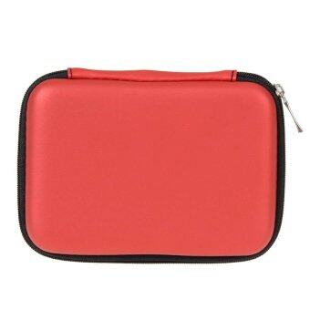 """Case Cover Pouch Bag for 2.5"""" External USB Hard Drive Disk SSD HDD (Red) - Intl"""