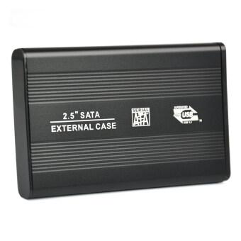 Hard Drive External Case for PC/Laptop (Black) - Intl